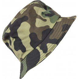 Flexfit Camo Bucket Hat Kappe