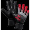 Skinator Hardground NF Torwarthandschuh in rot/schwarz/grau