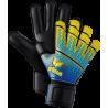 Skinator Hardground Torwarthandschuh in safety yellow/blau