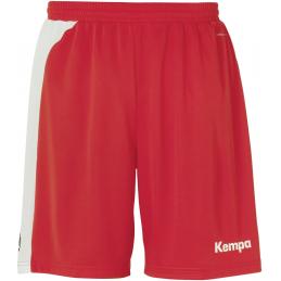 Kempa Peak Shorts in rot/weiß