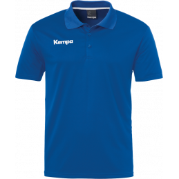 Kempa Poly Polo Shirt in royal