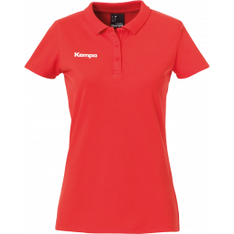 Kempa Polo Shirt Women in rot