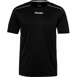 Kempa Poly Shirt in schwarz