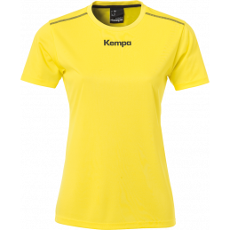 Kempa Poly Damen-Shirt in gelb