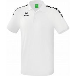 Erima Graffic 5-C Polo in weiß/schwarz