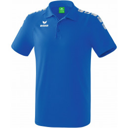 Erima junior Graffic 5-C Polo in new royal/weiß