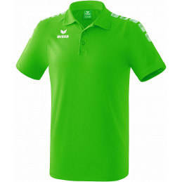 Erima junior Graffic 5-C Polo in green/weiß