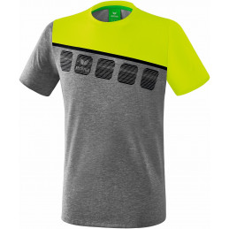 Erima 5-C T-Shirt in grau...