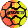 Derbystar Street Soccer Fussball in orange/gelb/schwarz