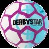 Derbystar Street Soccer Fussball in weiß/hellblau/lila
