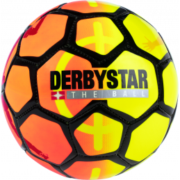 Derbystar Street Soccer Mini-Fussball in orange/gelb/schwarz