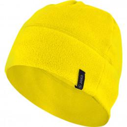 Jako Fleecemütze in gelb