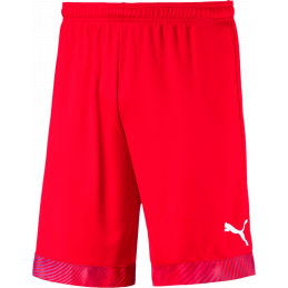 Puma Cup Shorts in red/white