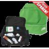 15 x Joma Training Sporttasche S mit Bodenfach in grün + Medical Bag