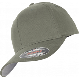 FlexFit Brushed Twill Cap...