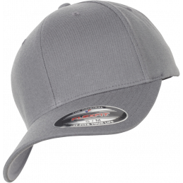 FlexFit Wool Blend Cap in grey
