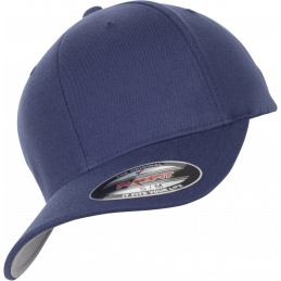 FlexFit Wool Blend Cap in navy