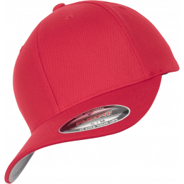 FlexFit Wool Blend Cap in red