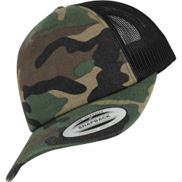 FlexFit Camo Trucker in...