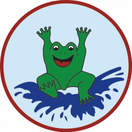 Beco Stoffzeichen Frosch